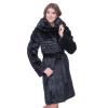 Элегантное пальто из нутрии