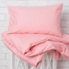 Детское постельное белье хорошего качества, Комплект Розовые горошки