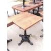 Стол б/у квадратный дерево для кафе, ресторана