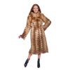 Роскошное пальто из лисы