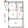 Квартира 54 метра, 2 к, Вишняковская 4, Осокорки, Киев, дом сдан