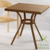 Плетеные столы из ротанга, Стол Барселона