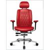 Кресло руководителя WAGNER AluMedic Limited S Comfort V60 Черная кожа