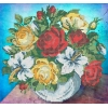 Набор для вышивки бисером Пиала с розами
