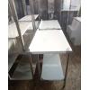 Кухонная мебель из нержавейки новая в наличии на складе, стол, стеллаж, мойка