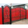 Еврозабор с воротами в Запорожье
