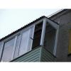 Ремонт козырьков балкона