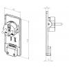 Плоский штекер EVOline Plug