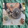 Cрібний чоловічий браслет «Лев»