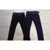 Черные штаны-коттоны джинсы на флисе на мальчика р. 134, 140, 146, 152, 158, 164 Seagull. Венгрия
