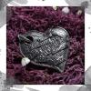 Срібний кулон «Кохаю»