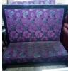 Диван фиолетовый б/у ткань для кафе, ресторанов
