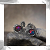 Срібні жіночі сережки « Дракони»