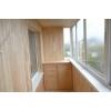 Обшивка балкона, лоджии ремонт. Вынос балконов с установкой пластиковых окон, отделка пластиковой и деревянной вагонкой потол