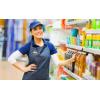 Работник в супермаркет