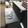 Бу чёрный диван в хорошем состоянии