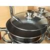 Набор посуды из нержавеющей стали пр-во Германия дно 9-ти слойное и подарок фен
