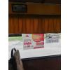 Розміщення інформаційних листівок та розтяжок в громадському транспорті.