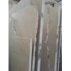Мрамор Крема Марфил, фантазийная поверхность испещрена витиеватыми, блуждающими золотыми нитями