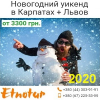 Новогодний 2020 уикенд Карпаты Львов от Этнотур