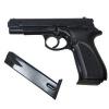 Стартовый пистолет SUR 1607 black + запасной магазин