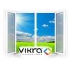 Пластиковые окна VIKRA, изготовление, установка.