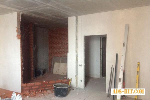 Штукатурка стен, выравнивание стен, потолков. Киев