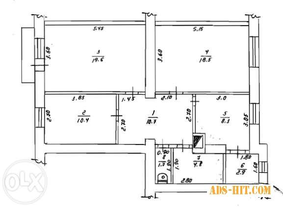 """3-х кімнатна квартира+ гараж+дачна ділянка Район """"Зелені"""". Навпаки Газконтори."""