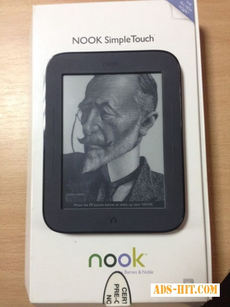 Электронная книга Barnes-Noble Nook Simple Touch