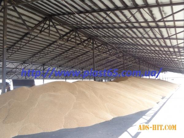 Строительство ангаров для хранения зерна, сена, кормов, изготовление свинарников, Украина.