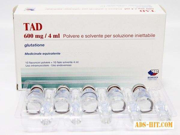Медицинский препарат TAD 600