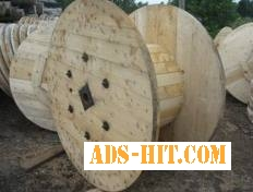 Кабельные и канатные деревянные барабаны, комплекты