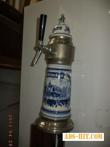 Кран для пива, пивоохладитель колонна пивная.