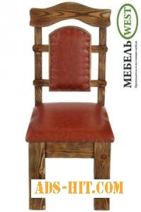 Деревянные стулья для кафе, Стул Королевский мягкий