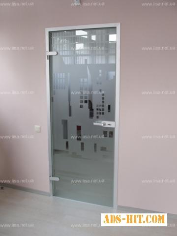 Скляні двері, душові зі скла