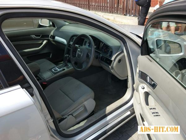 Audi A6 салон - дверные карты, сиденья, потолок!