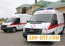 МедТранс - перевезти больного из Днепродзержинска в Киев, в Авдеевку, в Белую Церковь