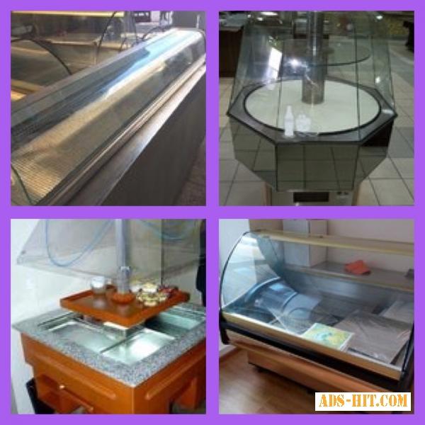 Холодильные витрины бу для кафе, ресторана, столовой, продуктового маркета с гарантией.