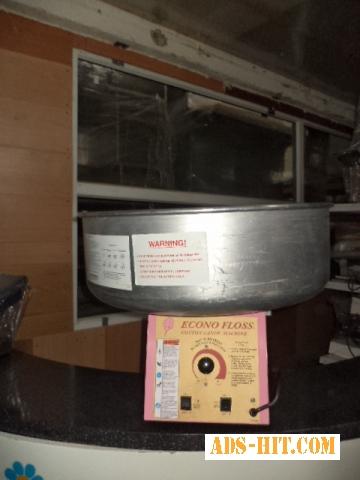 Аппарат для производства сахарной ваты Gold Medal Econo Floss б/у