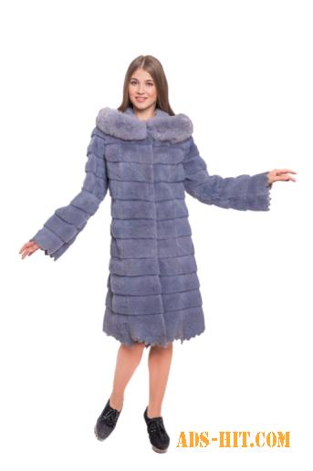 Шикарное пальто из нутрии