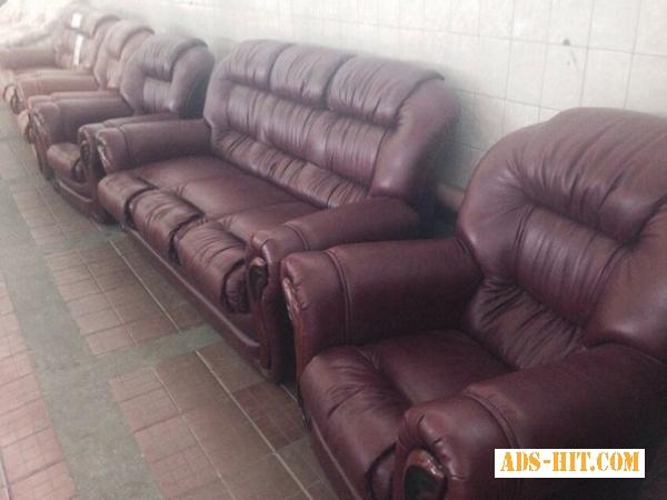 Диван и два кресла. Комплект Омега 3+1+1.