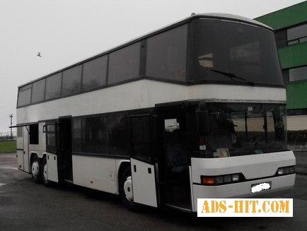 Автобусные перевозки за границу автобусом Neoplan 76 пас/мест