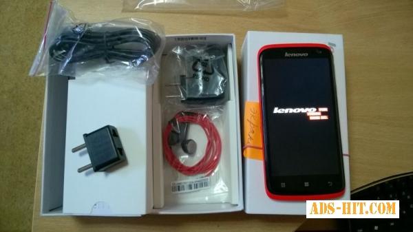 Смартфон Lenovo S820 (Red) (витрина)