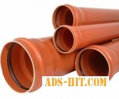 Трубы ПВХ для наружной канализации