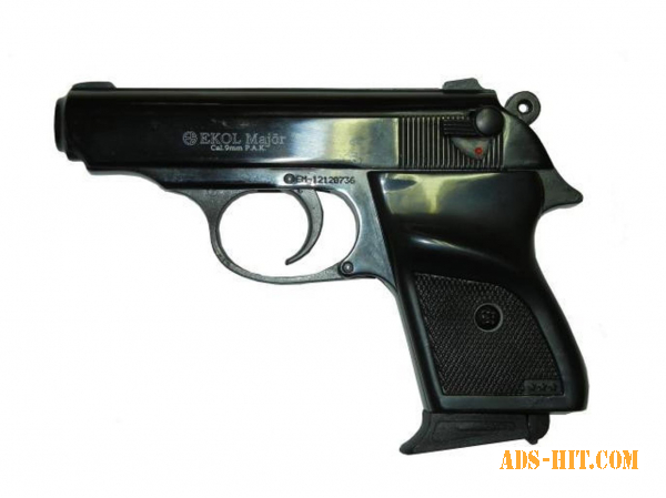 Стартовый пистолет ekol major (чёрный)