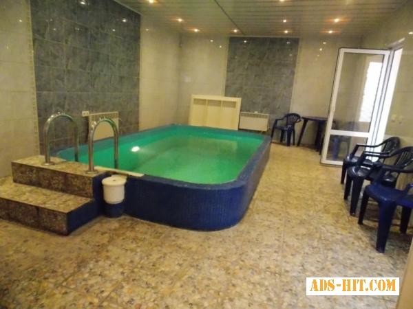 Cдаю посуточно дом-люкс с сауной и бассейном