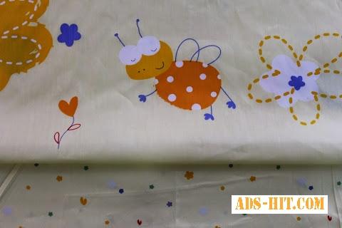 Постель для новорожденных, Сатин Сладкий мед