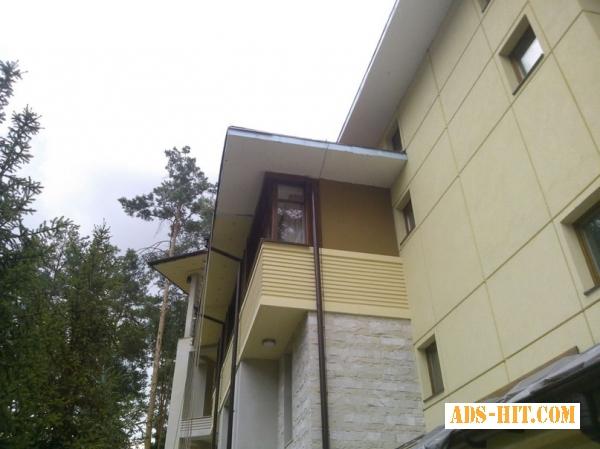 Фасадные работы Утепление фасада.