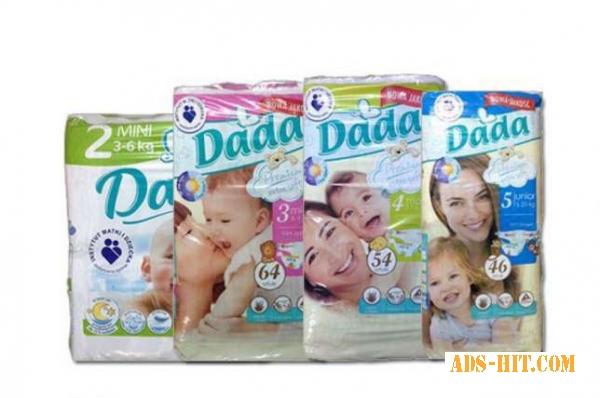 """Памперсы """"Dada Premium Extra Soft"""" оптом."""