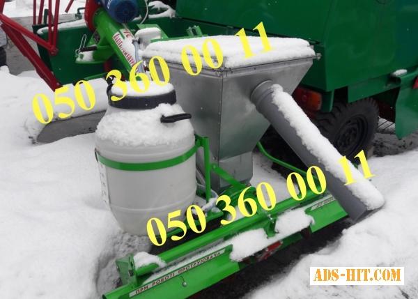 Протравитель семян ПНШ-5, шнековый, дозатор постоянного уровня